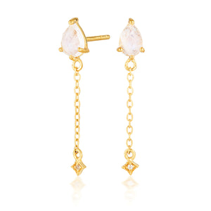 VEGA DROP EARRINGS | GOLD