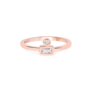 OPEN SIGHT RING | ROSE GOLD