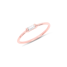 TINY BAGUETTE RING | ROSE GOLD (11152715726)