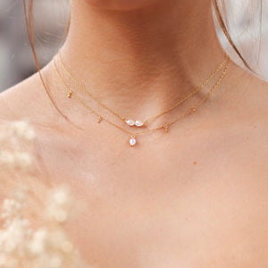 LUCINE NECKLACE | GOLD (1749381021762)