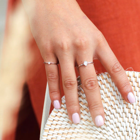 STARLIGHT PINKY RING | SILVER