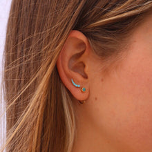 PLAYA AZUL EARRINGS | GOLD