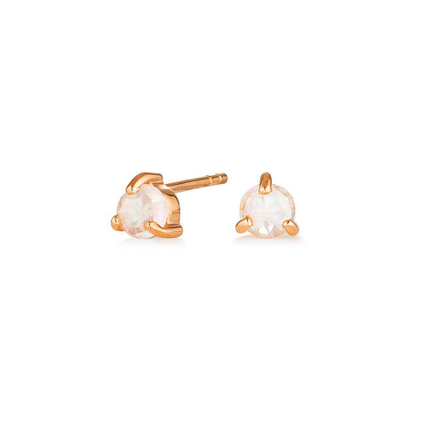 NEW MOON STUDS | ROSE GOLD (1750580887618)