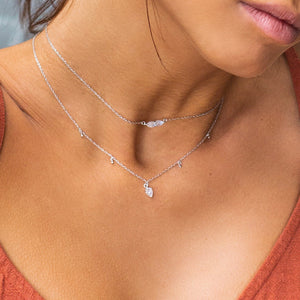 LYRA NECKLACE | SILVER
