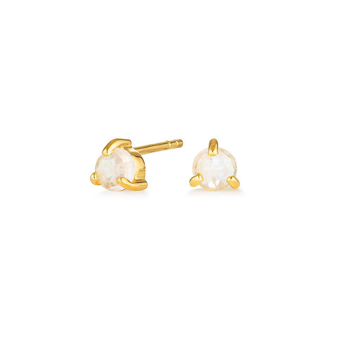 NEW MOON STUDS | GOLD