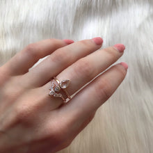 ANGELS ARC RING | ROSE GOLD (1588969144386)