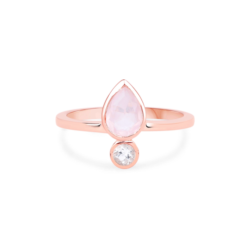 QUARTZ EMPOWER RING | SILVER