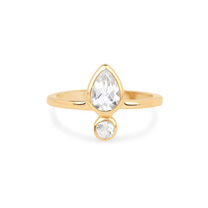 TOPAZ EMPOWER RING | GOLD