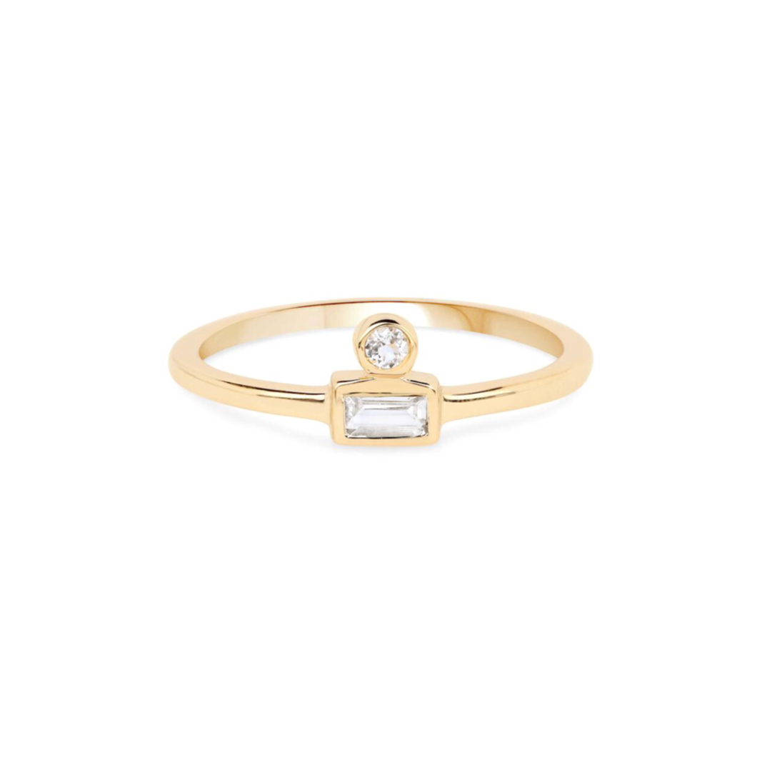 OPEN SIGHT RING | GOLD