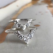 ANGELS ARC RING | SILVER