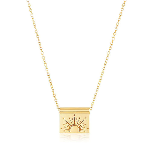 GLOW NECKLACE | GOLD (1999945924674)