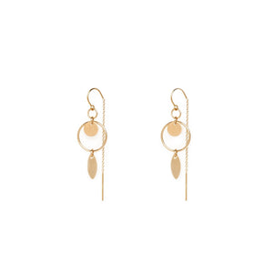JADA EARRINGS | GOLD