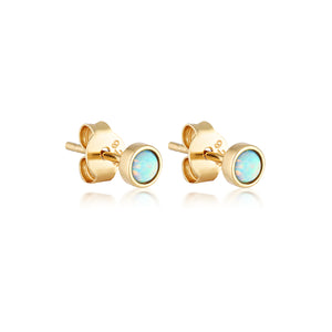 KARMA STUD EARRINGS | GOLD (4703761563714)