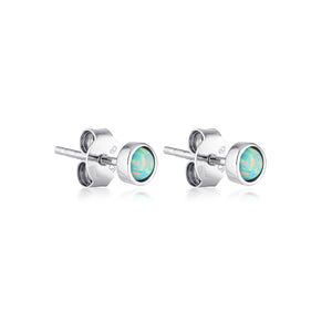 KARMA STUD EARRINGS | SILVER (4703762677826)