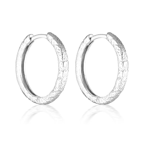 LAUVE HOOPS | SILVER (4703751929922)