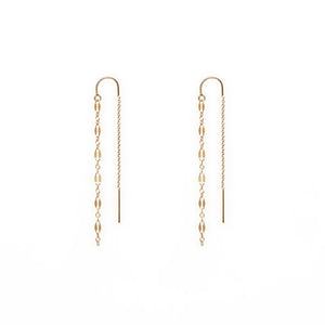 LEURA EARRINGS | GOLD