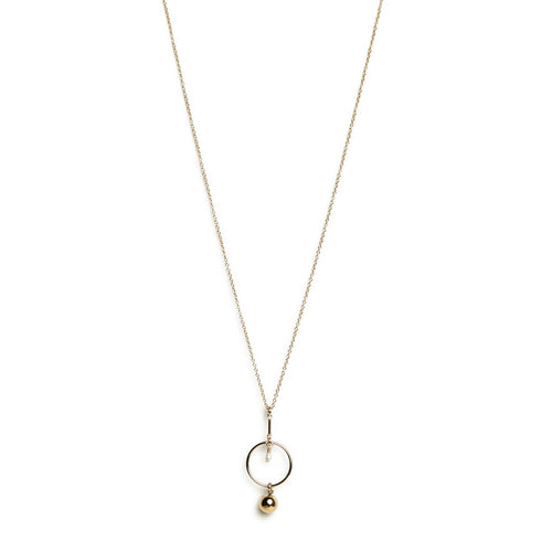 OCCE NECKLACE | GOLD