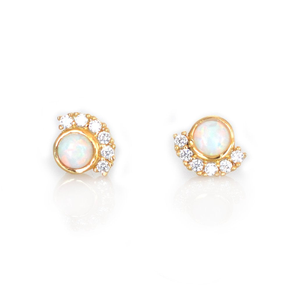 PARISIAN SUNSET STUDS | GOLD