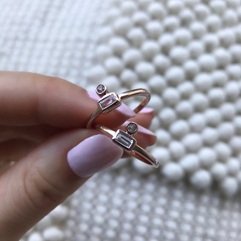 OPEN SIGHT RING | ROSE GOLD (11152734798)