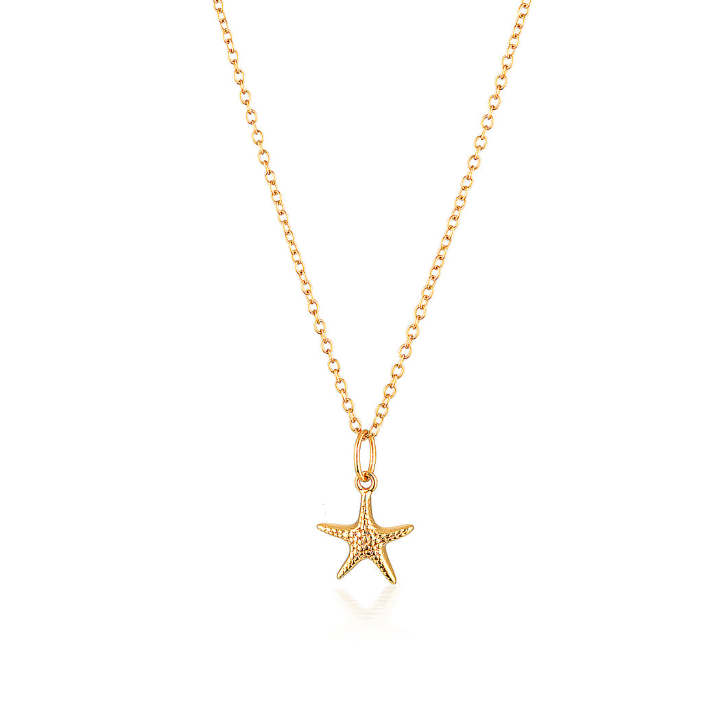 SEASTAR NECKLACE | GOLD (4724386660418)