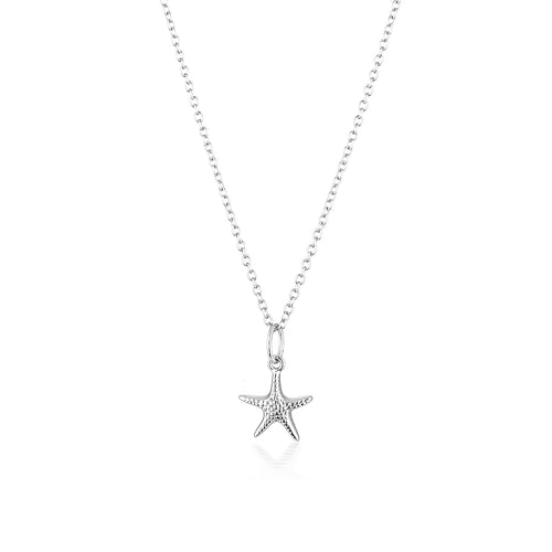 SEASTAR NECKLACE | SILVER (4724388331586)