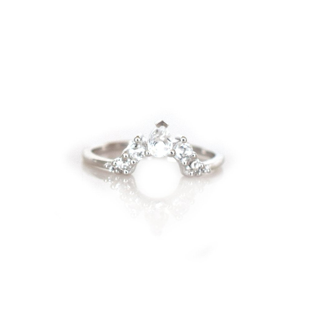ANGELS ARC RING | SILVER (484267753511)
