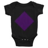 Short sleeve Diamond onesie
