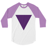 3/4 sleeve Triangle Tee