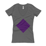 Women's V-Neck Diamond Tee