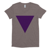 Super soft women's short sleeve Triangle Tee
