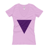 Women's V-Neck Triangle Tee
