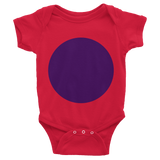 Short sleeve Circle onesie