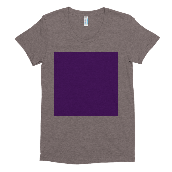 Super soft women's short sleeve Square Tee
