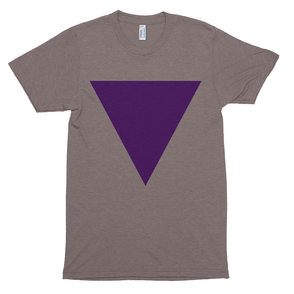 Super soft short sleeve Triangle Tee