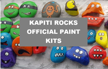 Kapiti Rocks Official Paint Kits
