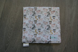 """Forrest Friends"" Burp Cloth"