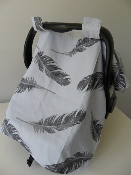 """Feathers Fly"" Capsule & Pram Cover"