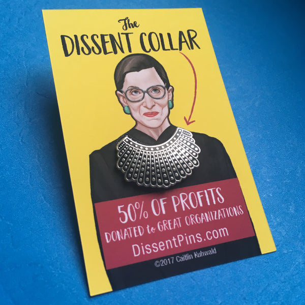 Ruth Bader Ginsburg's Dissent Collar