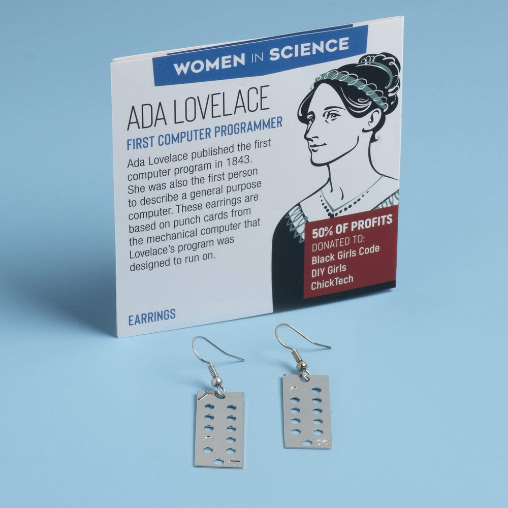 Ada Lovelace Necklace and Earrings
