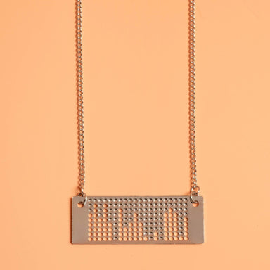Ada Lovelace / Punchcard Necklace