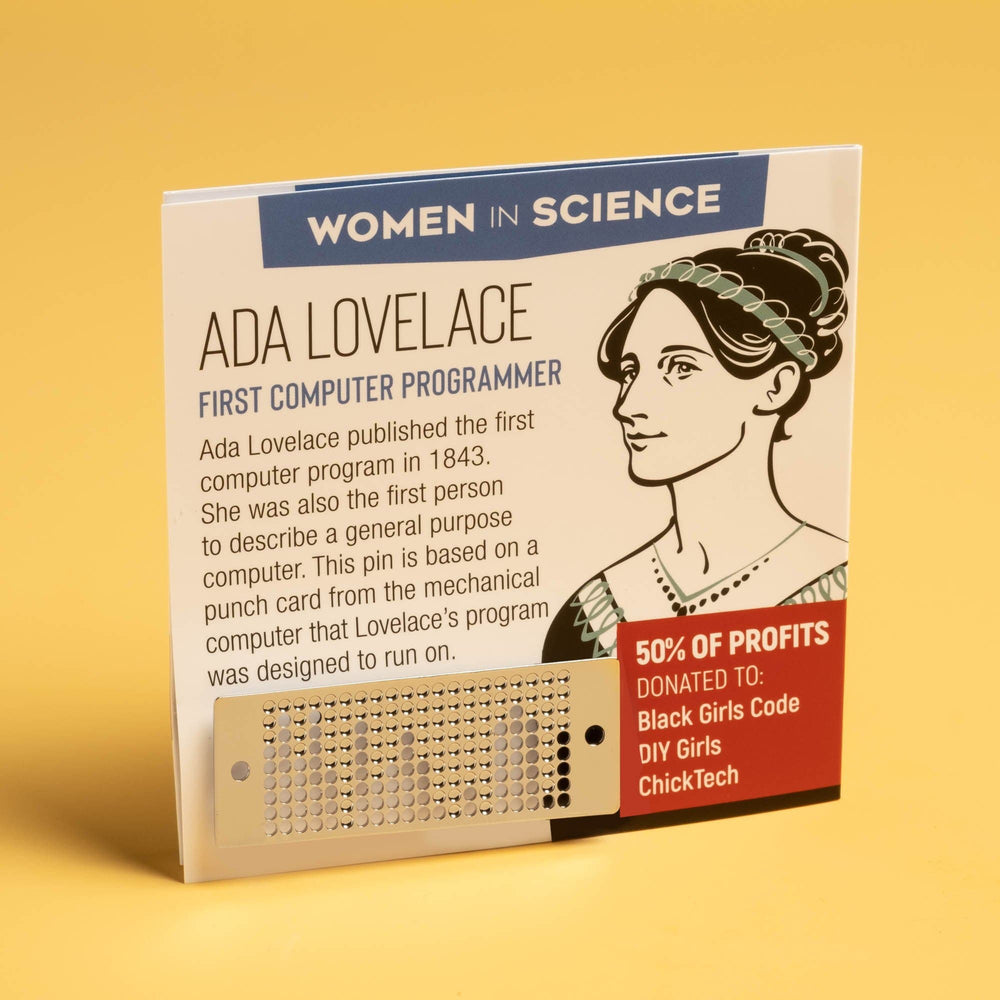 Women in Science Pin Set - get all 4 pins!