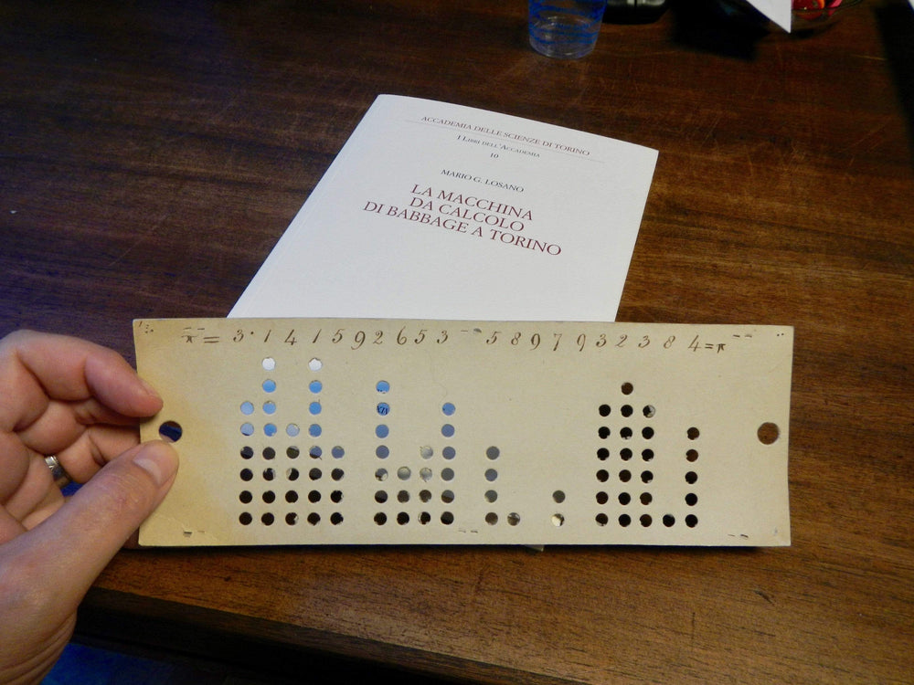 Ada Lovelace / Punchcard Pin