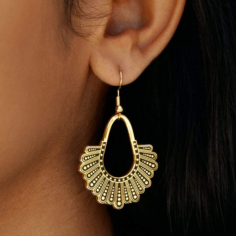 Dissent Collar Chandelier Earrings