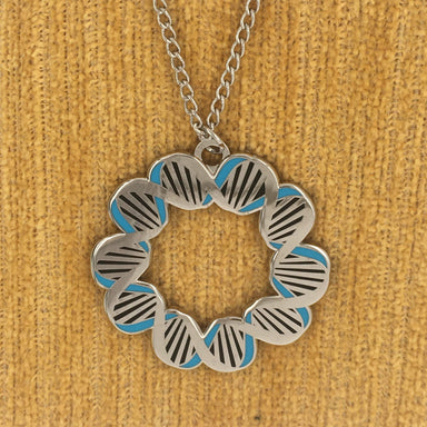 Rosalind Franklin DNA Necklace