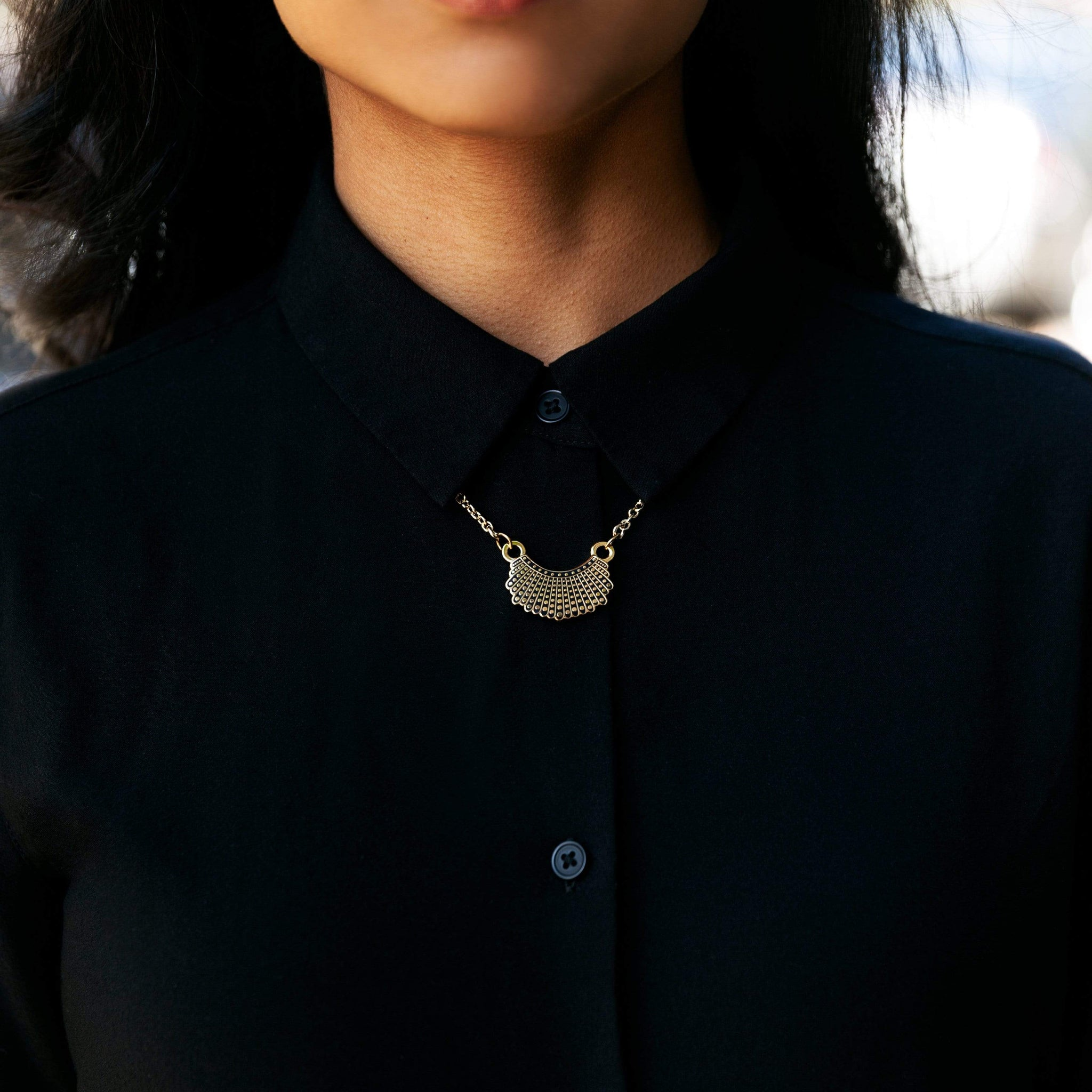 Dissent Collar Hook and Hoop + Necklace (set)