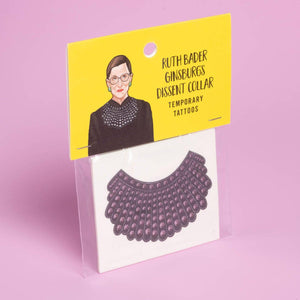 Dissent Collar Temporary Tattoos