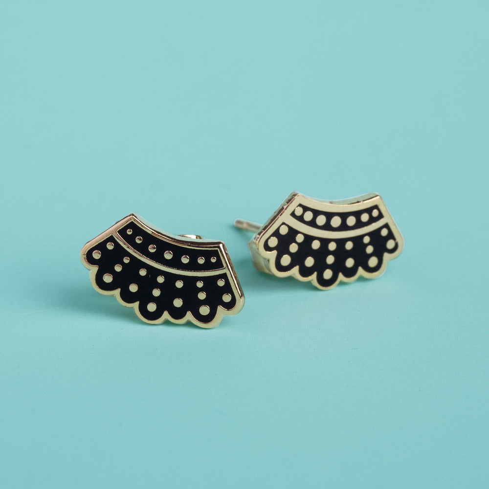 Dissent Collar Stud Earrings