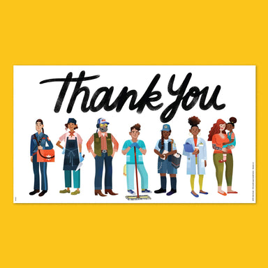 Essential Workers Thank You Poster #2