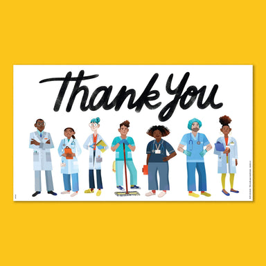 Essential Workers Thank You Poster - Healthcare