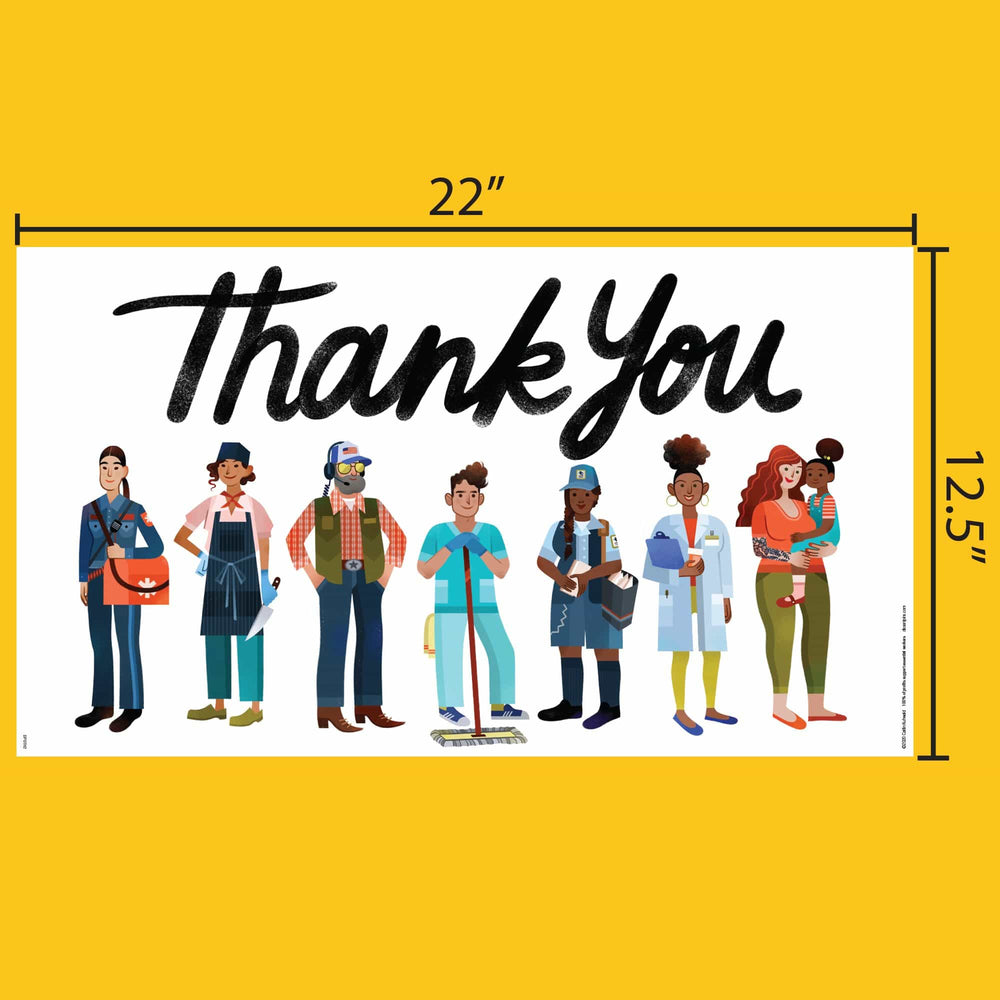 Pre-order: Essential Workers Thank You Poster Design #2